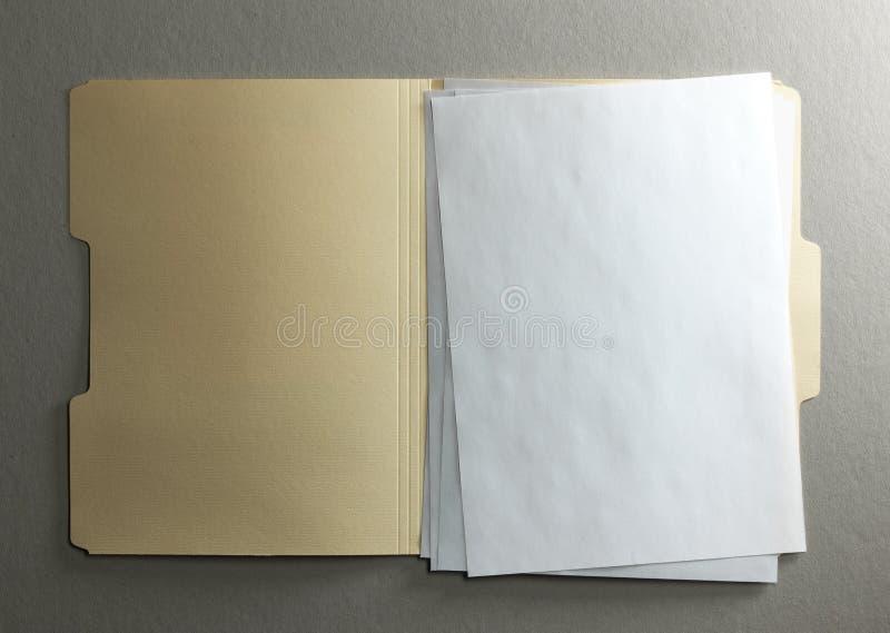 File folder stock photography