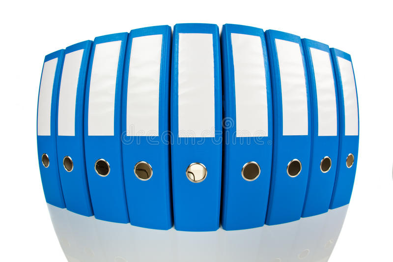 File folder with documents and documents. File folders with documents and papers. Retention of contracts stock image