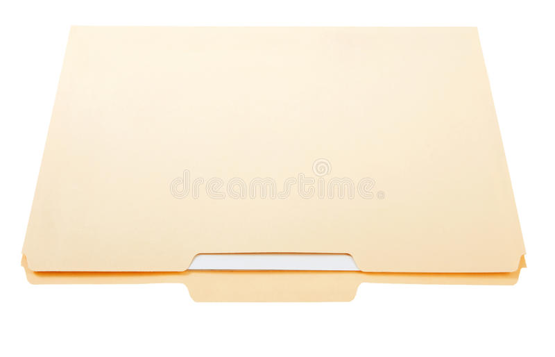 File folder with papers royalty free stock images