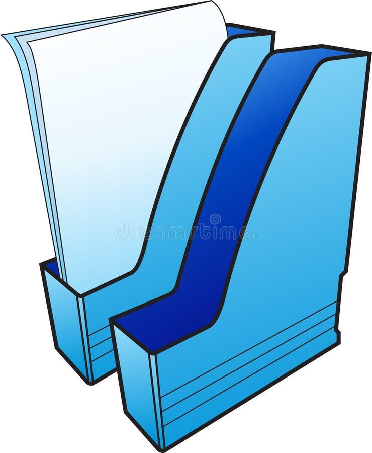 File-folders royalty free stock image