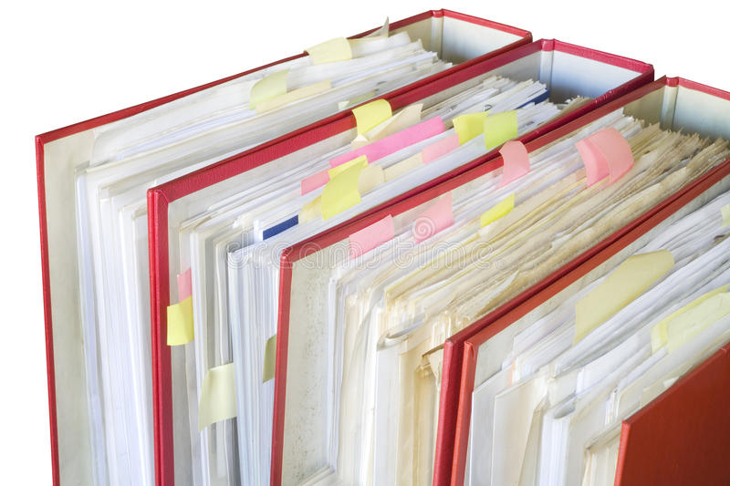 Download File folders stock image. Image of business, report, organization - 26384337