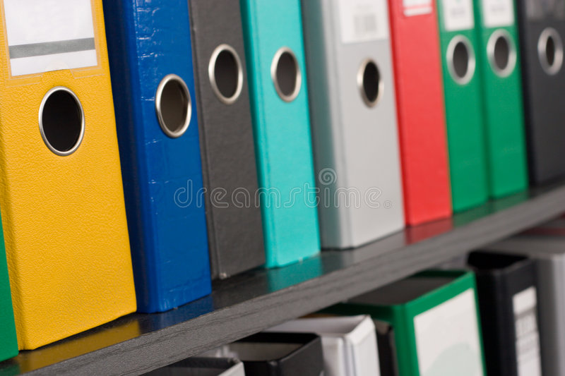 Download File folders stock image. Image of binders, research, folders - 3186071