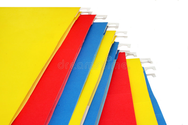 Download File folders stock photo. Image of supplies, storing, store - 516560