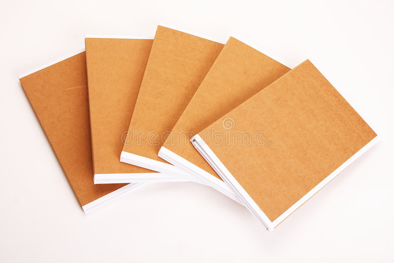 File Folders Stuffed with Paperwork royalty free stock photo