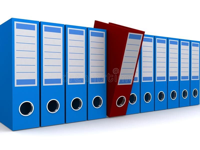 File Holders Stock Photography