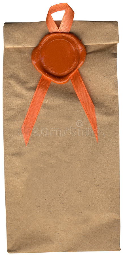 file pack seal size vintage wax xxx στοκ εικόνα