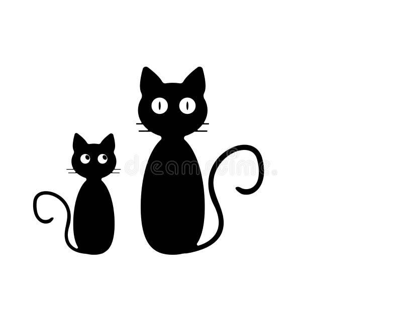 Cat breeds cute pet icon animal royalty free illustration