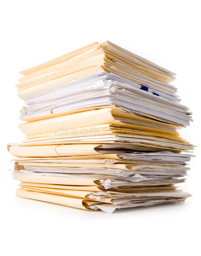 Download File Stack stock image. Image of folder, file, business - 2317271