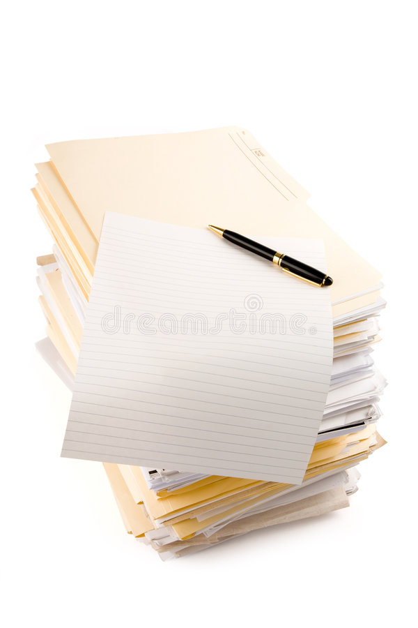 Download File Stack Royalty Free Stock Photo - Image: 2317285