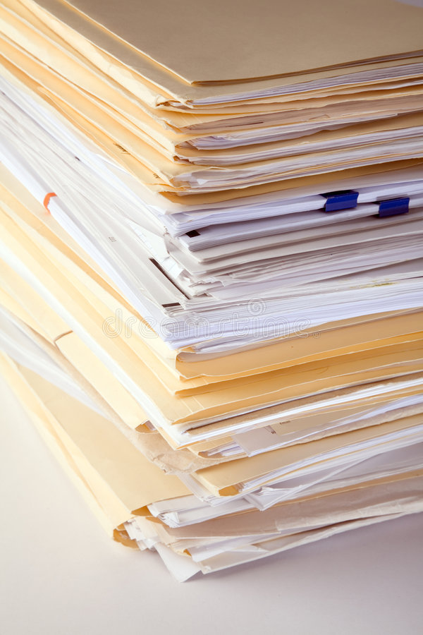 Download File Stack Stock Photo - Image: 2320140