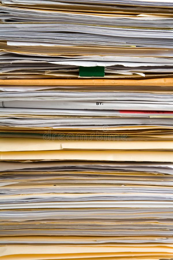 File Stack background stock photo
