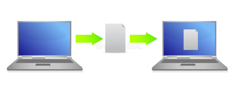 Download File Transfer Illustration Design Stock Illustration - Illustration of graphic, internet: 27394000