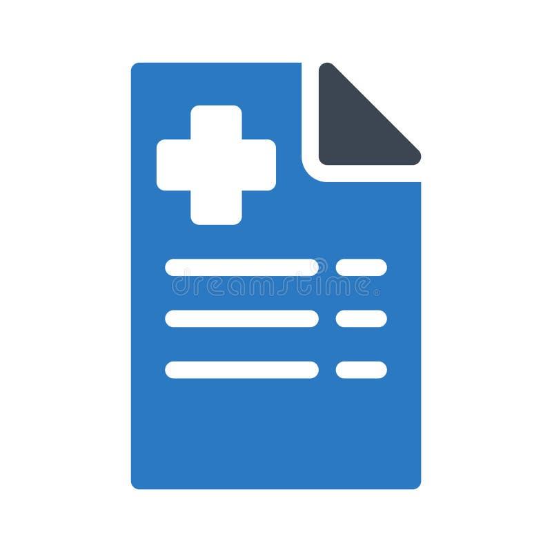 File glyph colour vector icon vector illustration