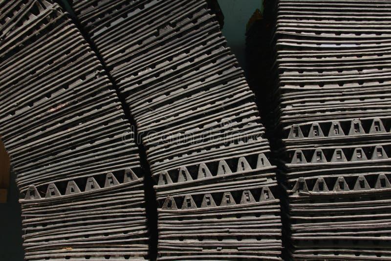 Fileira da bandeja do ovo, textured foto de stock royalty free