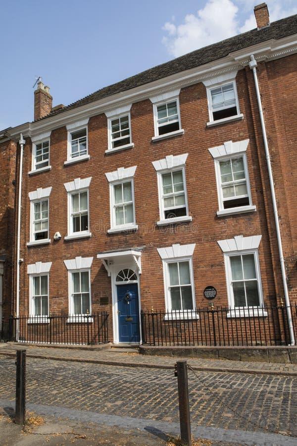 Fileira de 9 conventos em Coventry imagens de stock royalty free