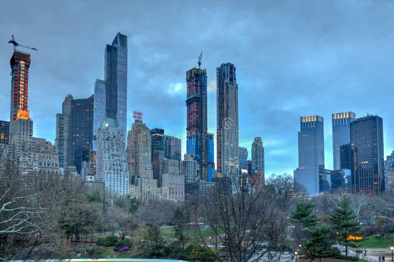 Fileira do ` dos multimilionário - New York City imagem de stock royalty free