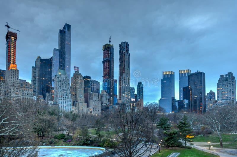 Fileira do ` dos multimilionário - New York City imagens de stock
