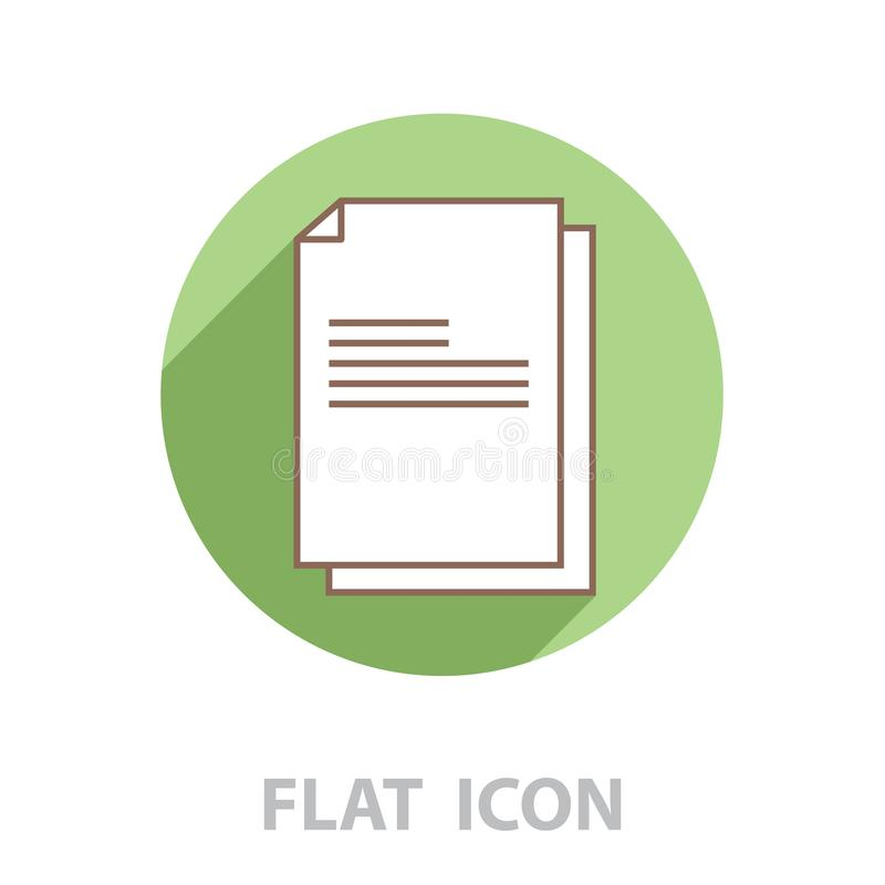Files documents, data icon. vector vector illustration