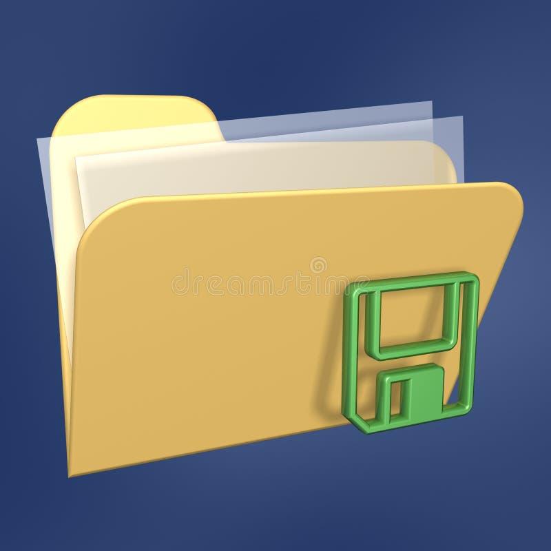 Free Files Folder And Floppy Stock Photo - 3435640