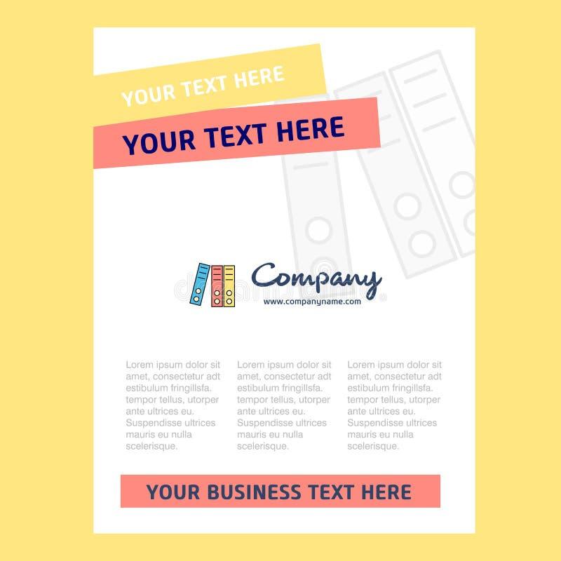Files Title Page Design For Company Profile Annual Report