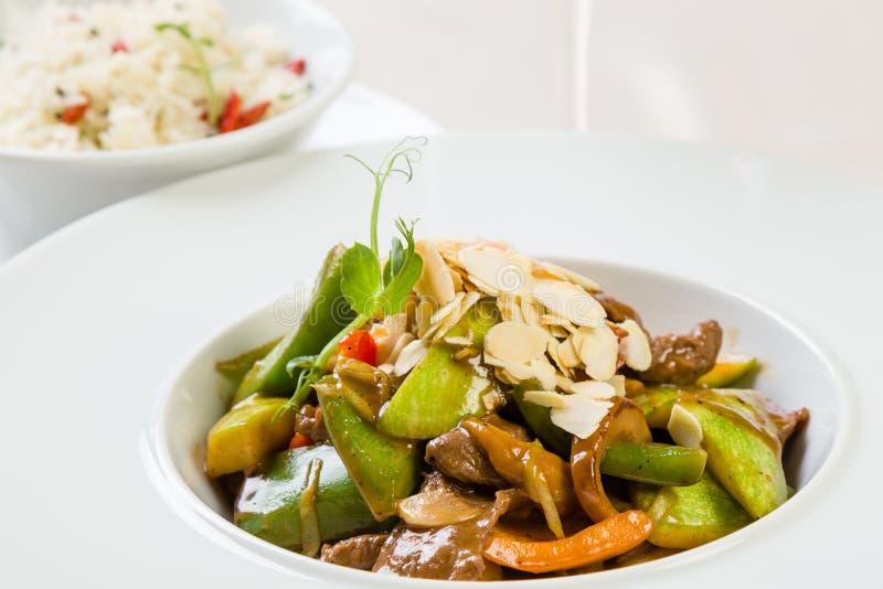 Filet de boeuf asiatique image stock