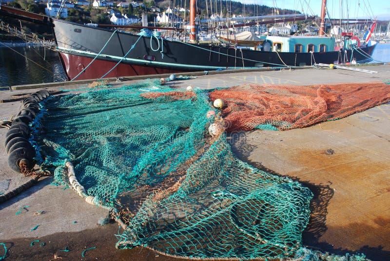 Filet de pêche. photos libres de droits