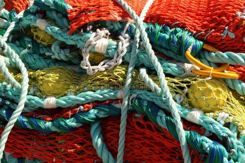Filet de pêche image stock