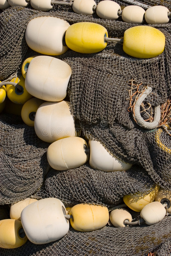 Filet de pêche photo libre de droits