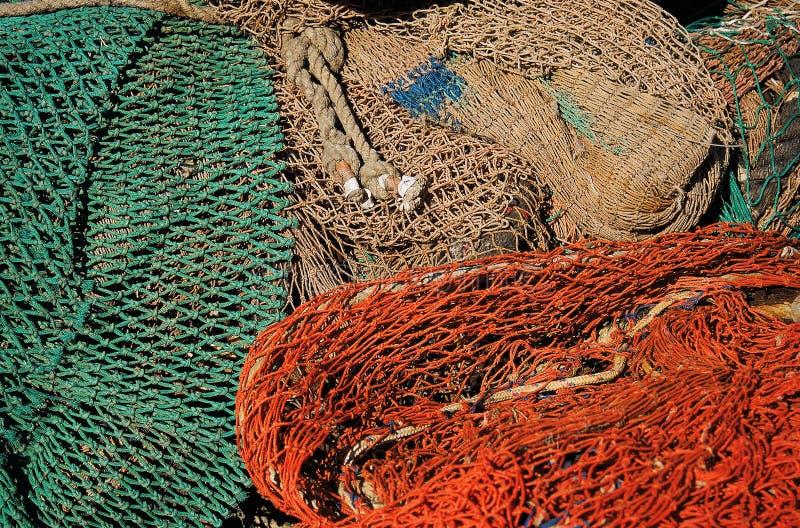 Filet de pêche image libre de droits