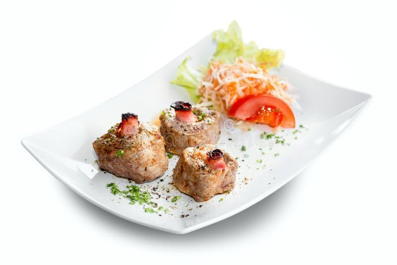 Filet de porc grillé image stock