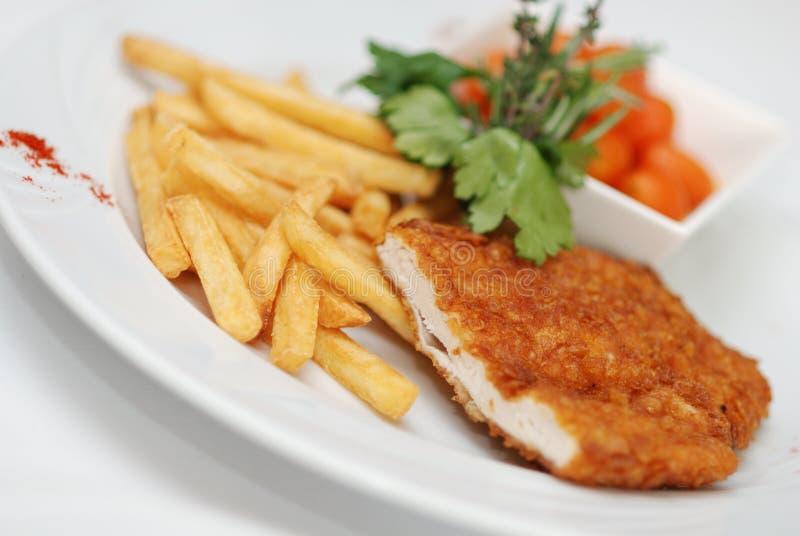 Filet de poulet image libre de droits