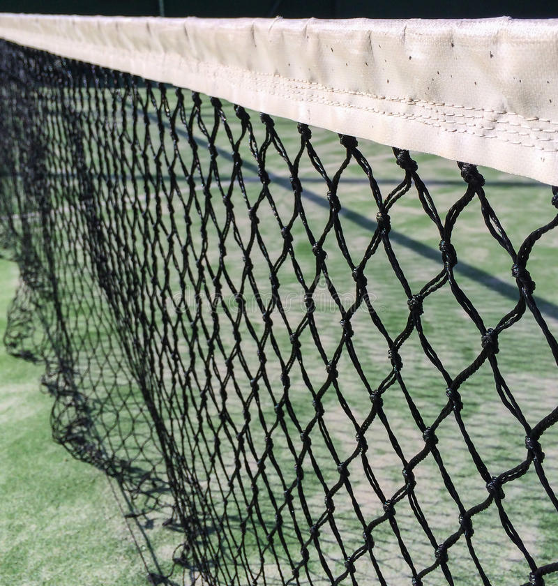 Filet de tennis de palette photos stock