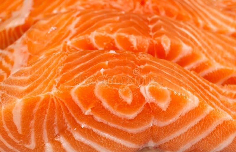 Filet des saumons images libres de droits