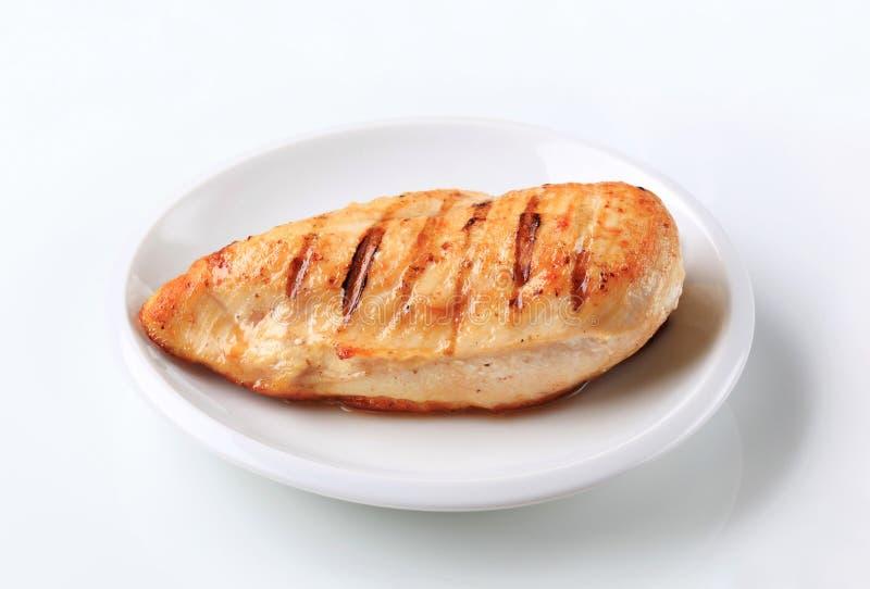 Filet grillé de poulet images stock