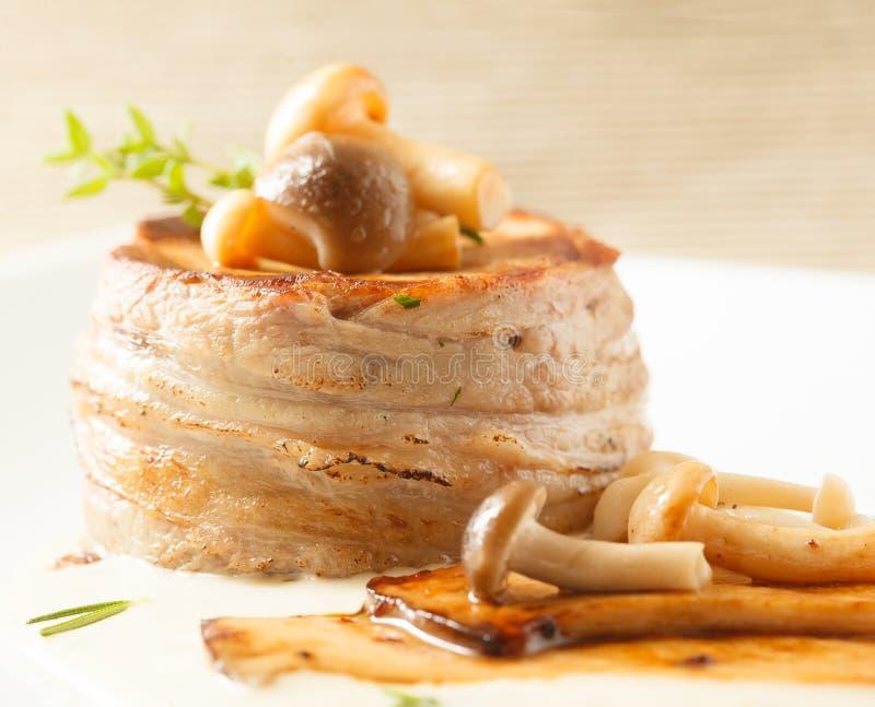 Filet Mignon Pork stock afbeelding