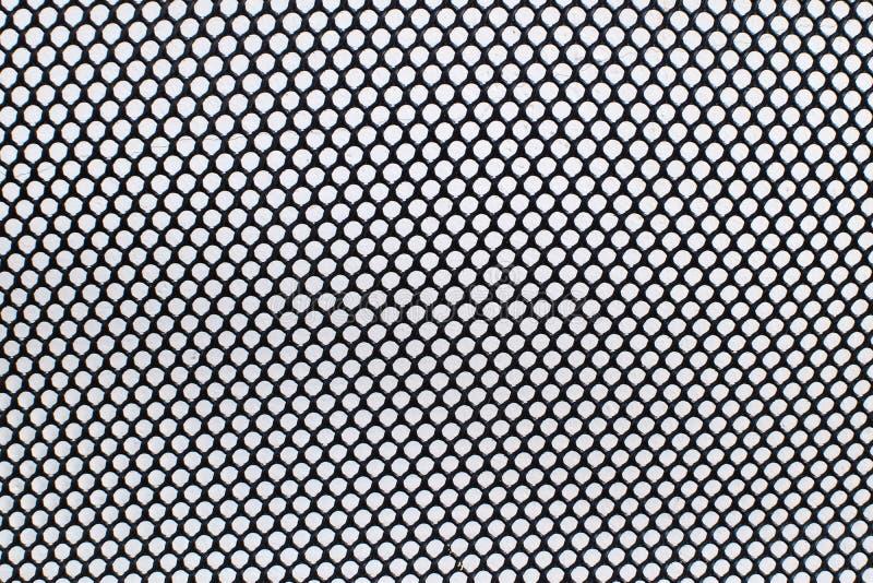 Filet noir de cercle image stock