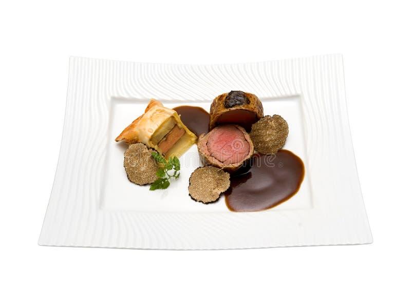 Filet van kalfsvlees stock afbeeldingen