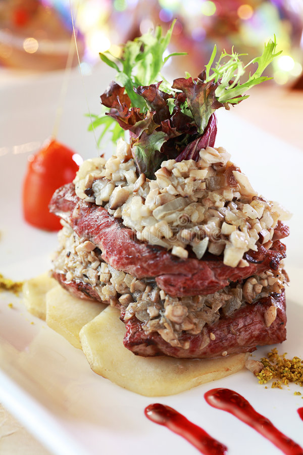 fileta mignon primy stek zdjęcie stock