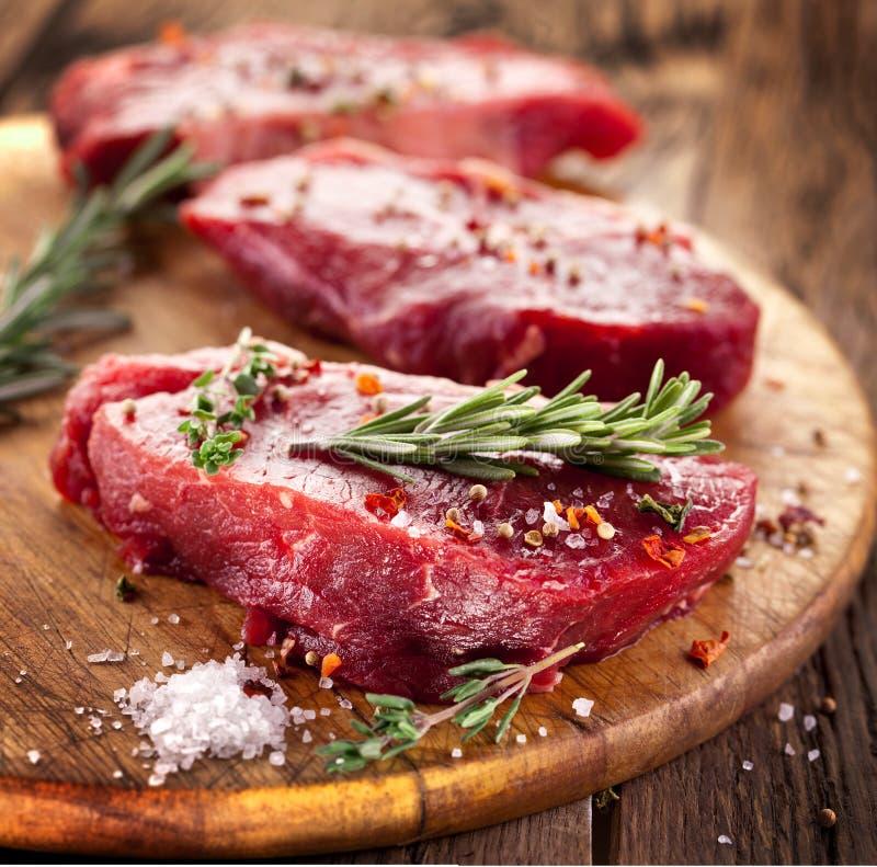 Filete de carne de vaca. fotografía de archivo libre de regalías