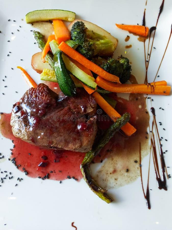 Filete de carne de vaca de Ibiza imagenes de archivo