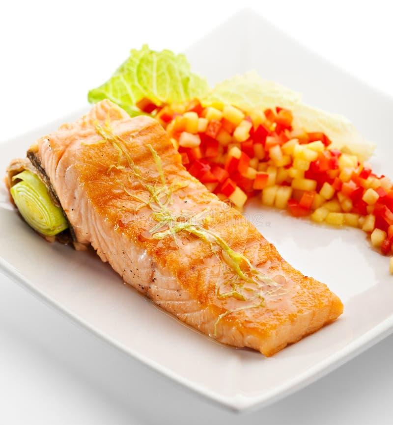 Filete de color salmón foto de archivo libre de regalías
