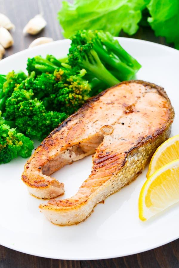 Filete de color salmón fotos de archivo