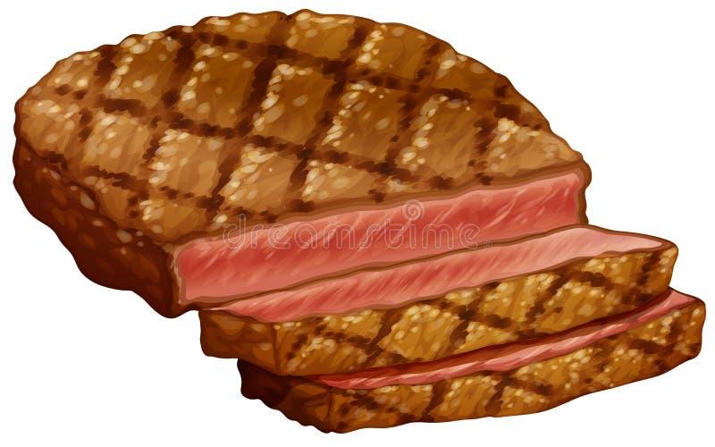 Filete de Ribeye ilustración del vector