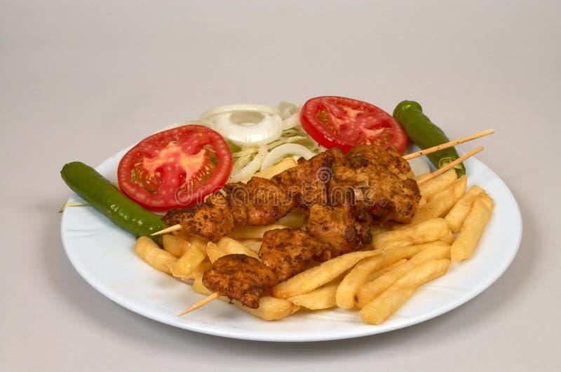 Download Filete del pollo foto de archivo. Imagen de salsas, entrada - 1294610
