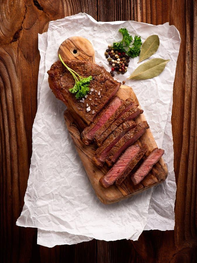 Filetes de carne de vaca fotos de archivo libres de regalías