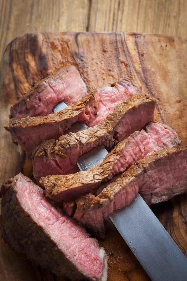 Filetes de carne de vaca imagenes de archivo