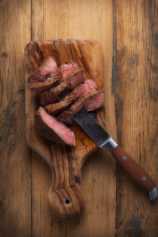 Filetes de carne de vaca fotografía de archivo