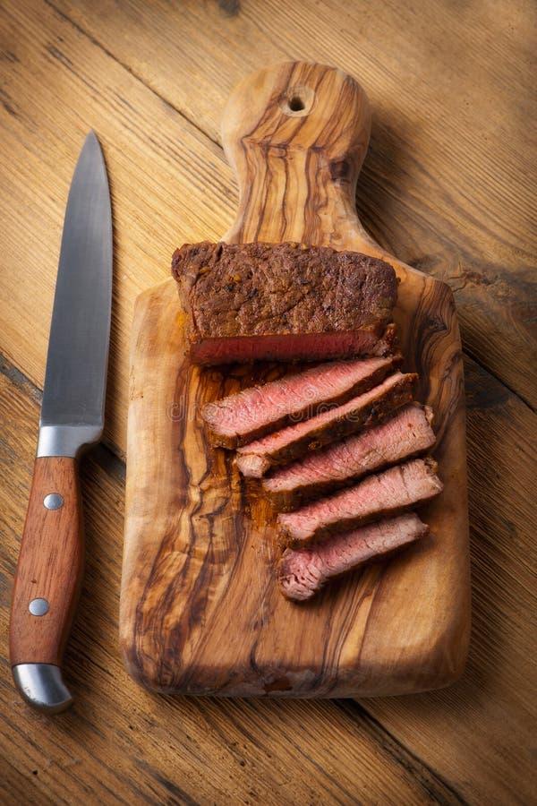 Filetes de carne de vaca foto de archivo libre de regalías