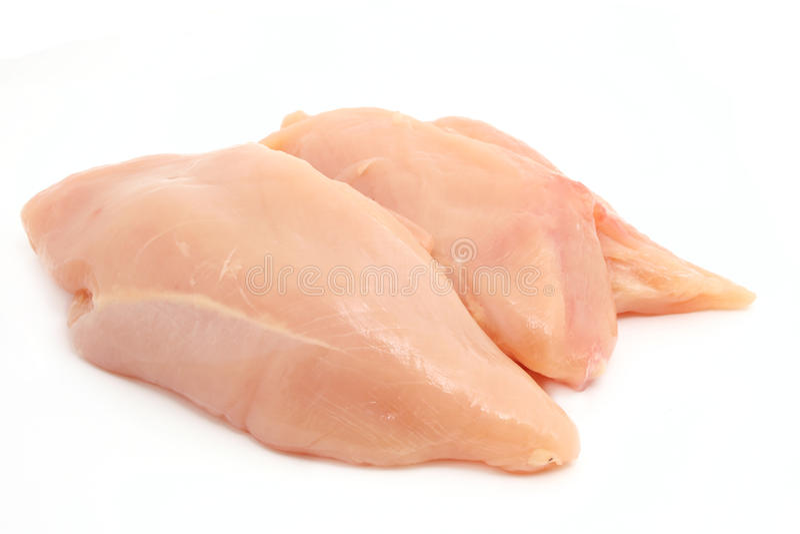 Filetes del pollo foto de archivo