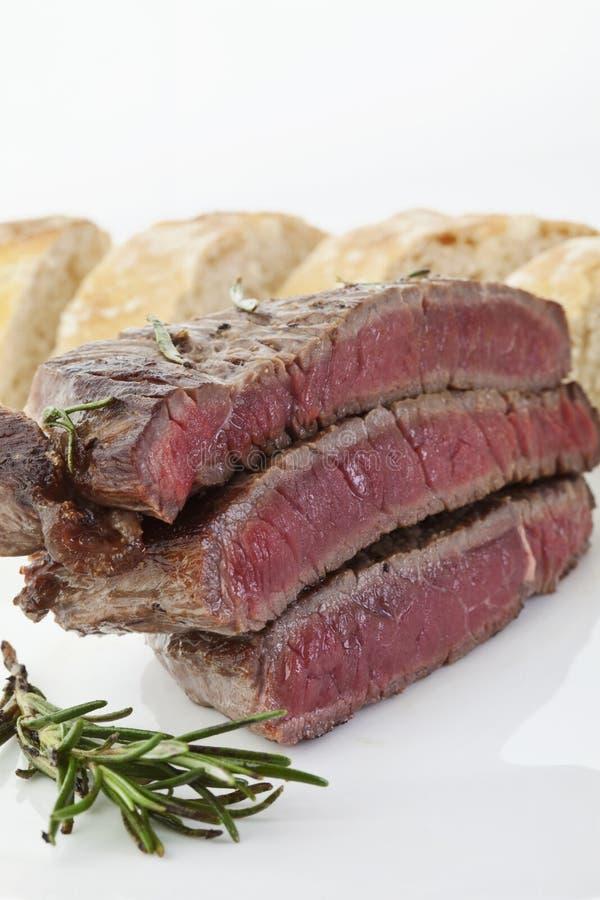 Filethaakwerk van rundvlees royalty-vrije stock foto